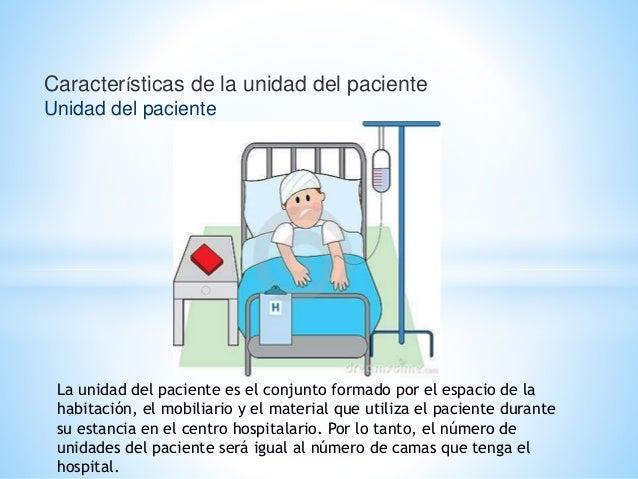 Caracter sticas de la unidad del paciente unidad del for Que es mobiliario