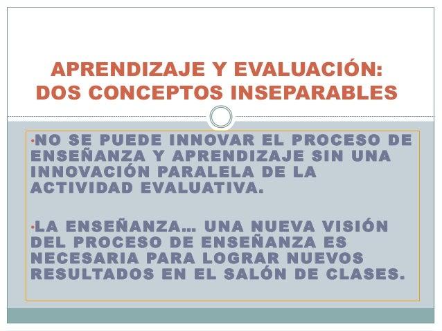 Fundamentos y tipos de evaluación Slide 3
