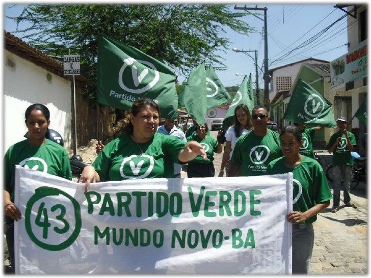 Fundação do partido verde 2