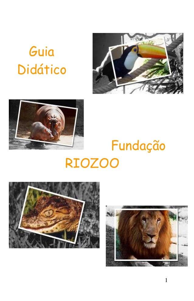 1 Guia Didático Fundação RIOZOO
