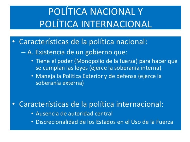 Politica internacional related keywords politica for Politica internacional