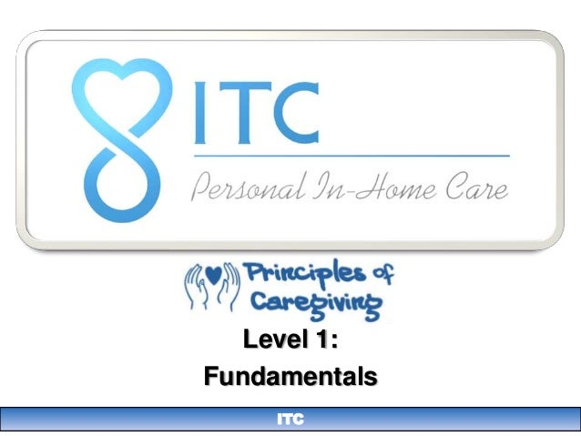 Level 1:Fundamentals     ITC