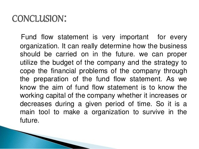 fund flow ppt p and l management