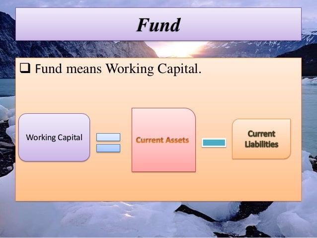 Fund flow statement Slide 2
