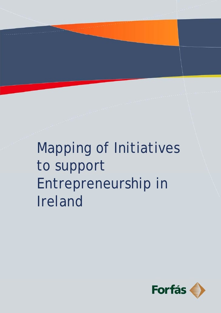 Mapping of Initiatives to support Entrepreneurship in Ireland