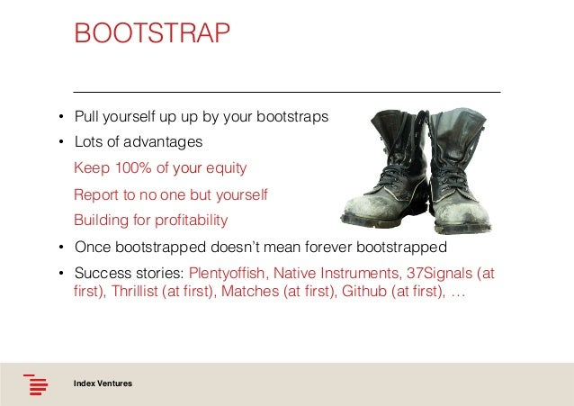 Bootstrap Pull Yourself Up