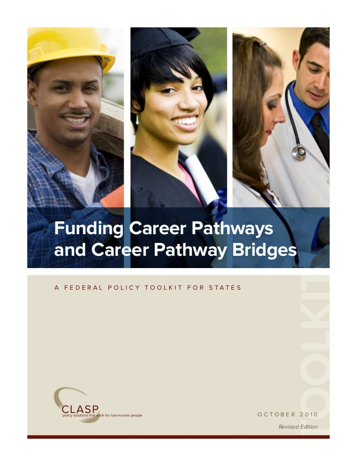Funding Career Pathwaysand Career Pathway Bridges                                              TOOLKITA FEDERAL POLICY TOO...