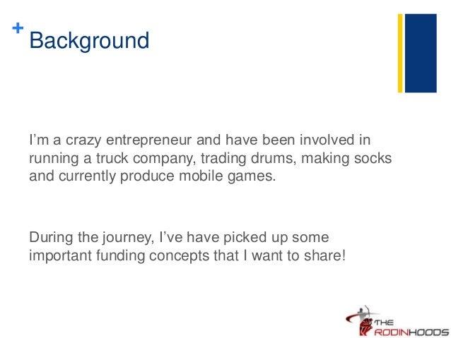 Basic Funding Concepts for Entrepreneurs Slide 2