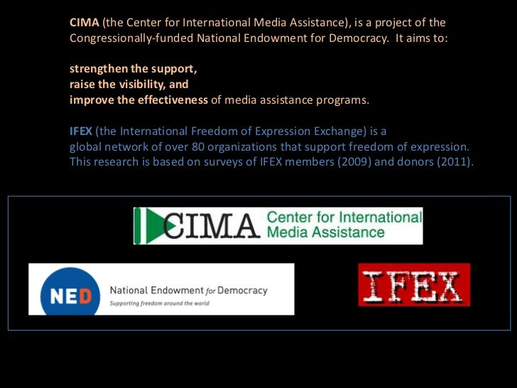 Funding free expression_by_anne_ nelson_ifex_cima Slide 2