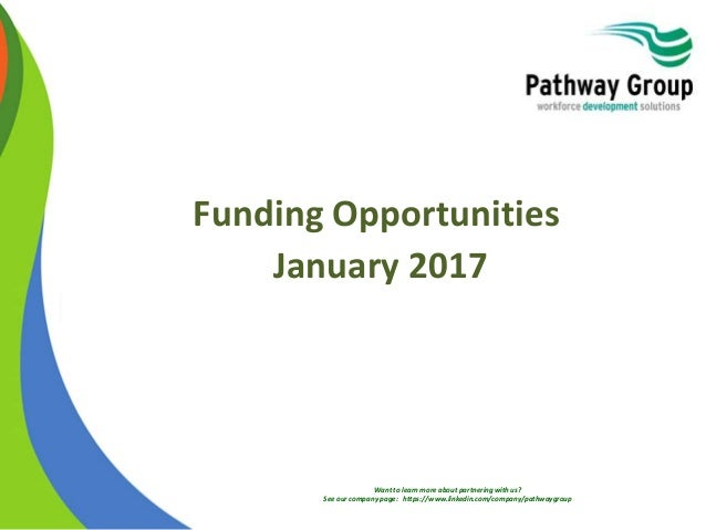 Want to learn more about partnering with us? See our company page: https://www.linkedin.com/company/pathwaygroup Funding O...