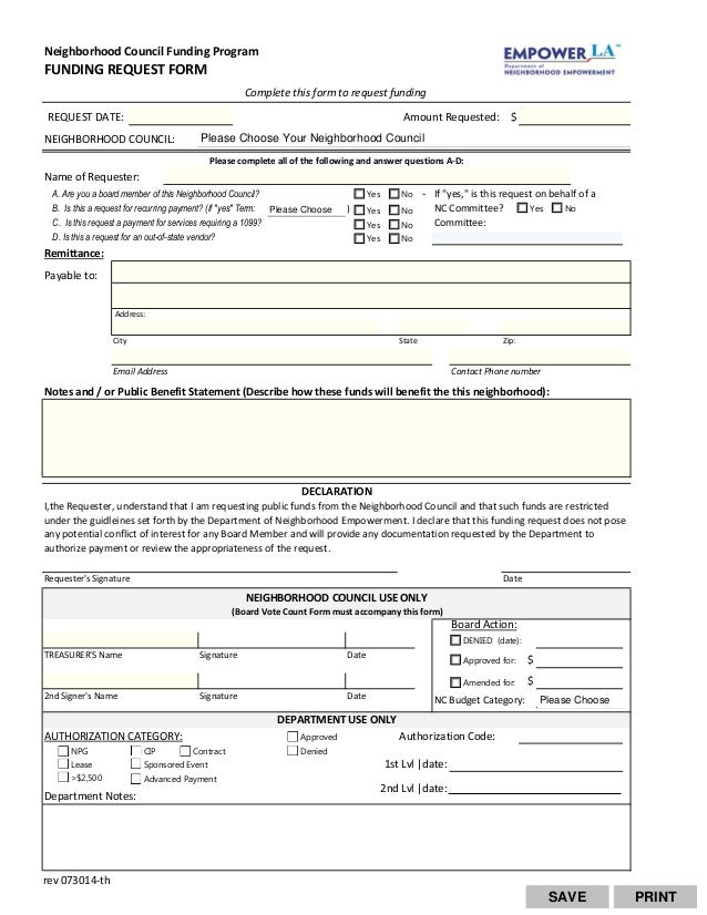 funds request form template - Diving.thexperience.co