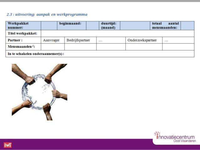 Contacteer ons!Innovatiecentrum Oost-Vlaanderen vzwSeminariestraat 29000 GENT 09 267 40 70 -  09 267 40 60www.innovatiec...