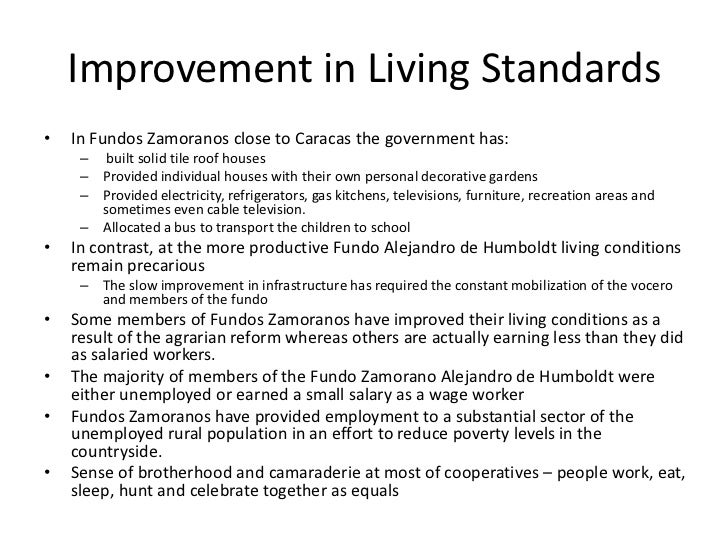 living condition essay Living conditions essay examples 15 total results an overview of the living conditions and treatment of slaves in the united states.