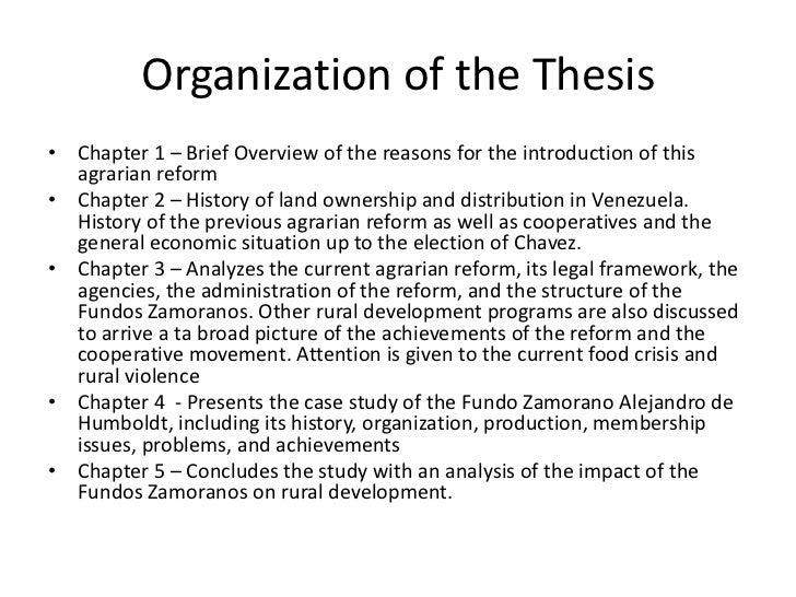 Dissertation thesis zamorano