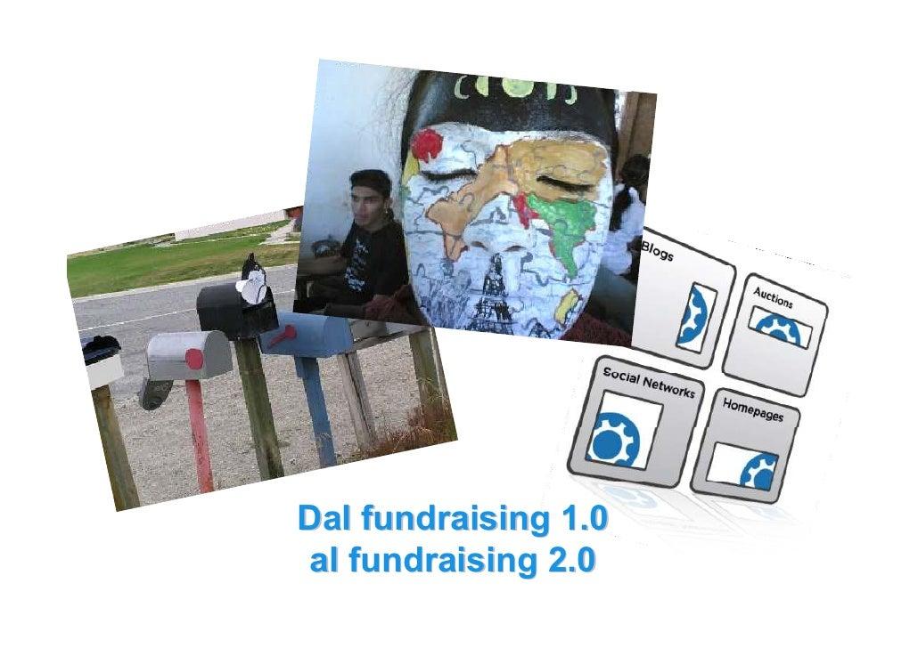 Dal fundraising 1.0 al fundraising 2.0