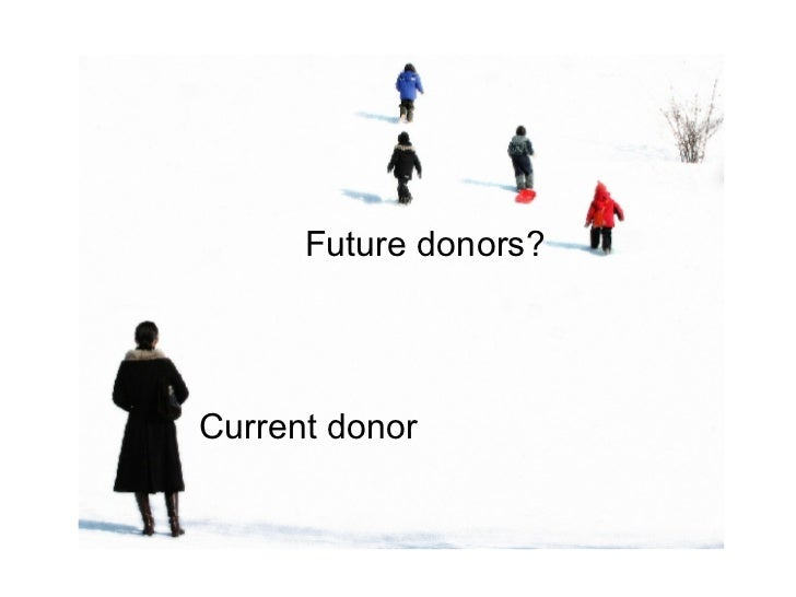 Current donor Future donors?