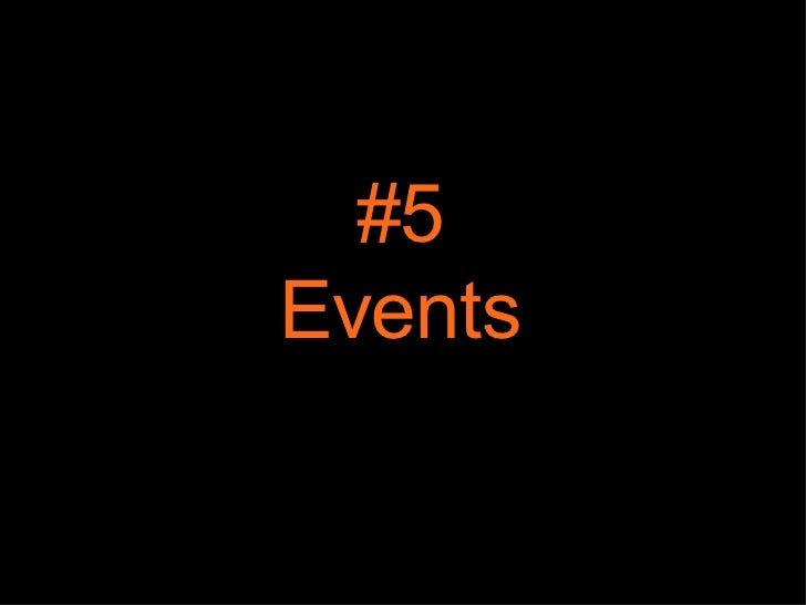 #5 Events