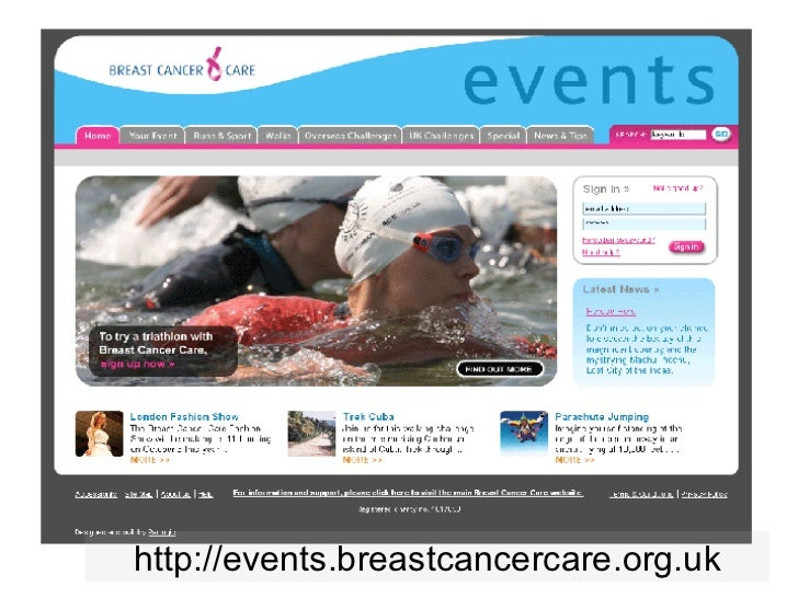 http://events.breastcancercare.org.uk