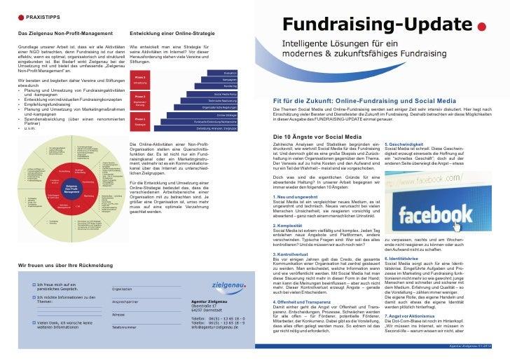 PRAXISTIPPSDas Zielgenau Non-Profit-Management                          Entwicklung einer Online-StrategieGrundlage unsere...