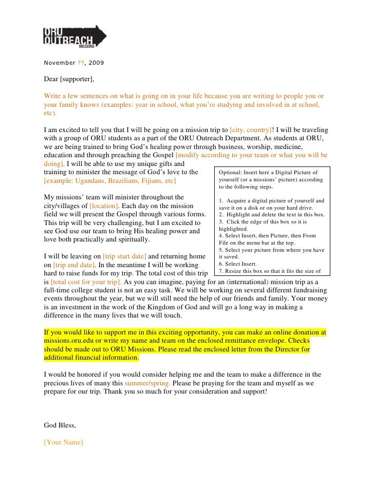 Oru Outreach Fundraising Letter 09