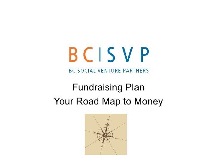 Fundraising Plan Your Road Map to Money