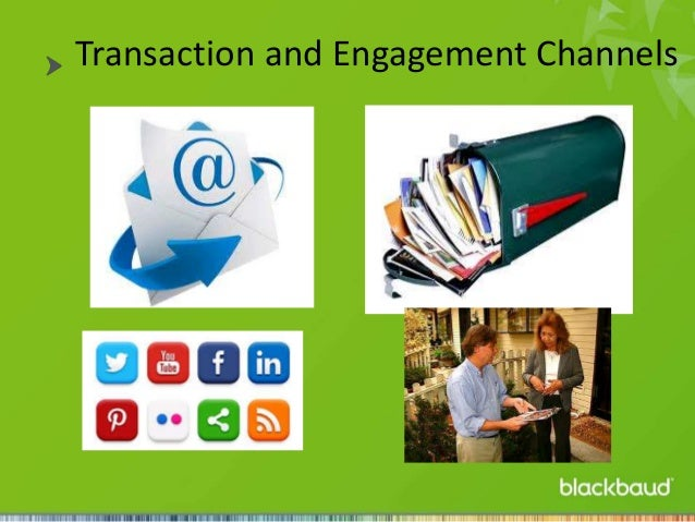 Transaction and Engagement Channels