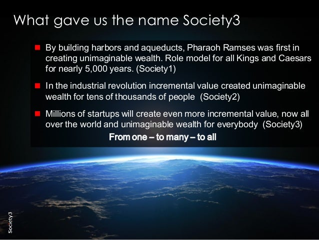 28© Copyright Society3 2015 Copying or distribution is prohibited #Society3 By building harbors and aqueducts, Pharaoh Ram...