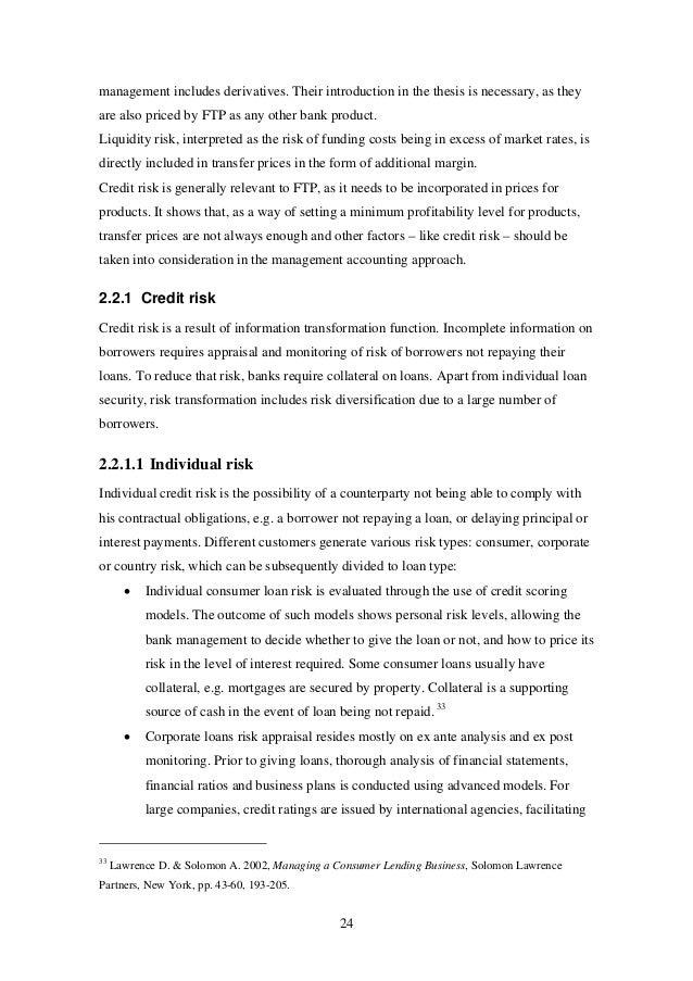 thesis on bank profitability