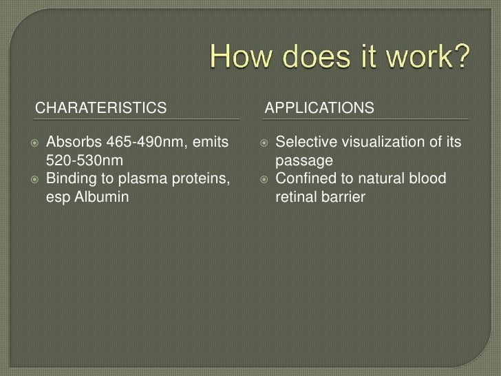 Fundus fluorescein angiography Slide 3