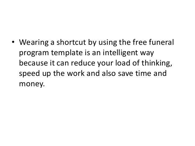program template for word
