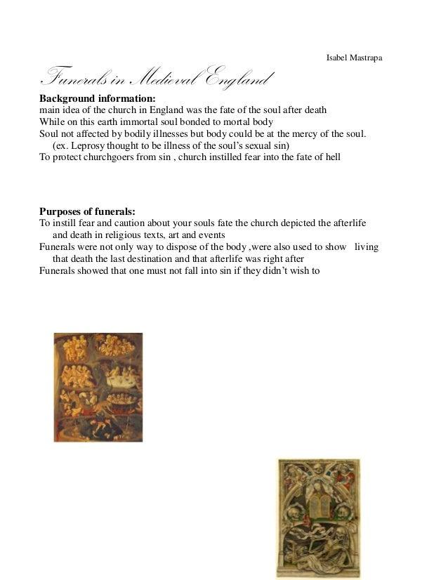 funeral handout