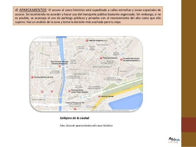 DEFICIENCIAS  La página oficial de turismo de Málaga no menciona ni información ni características sobre el turismo acces...