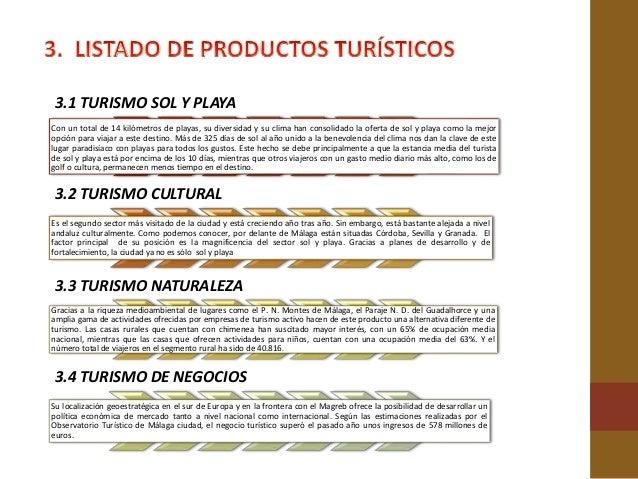 3.9 TURISMO NÁUTICO Existen tres puertos deportivos en Málaga: el Real Club Mediterráneo, el puerto deportivo y el club ná...