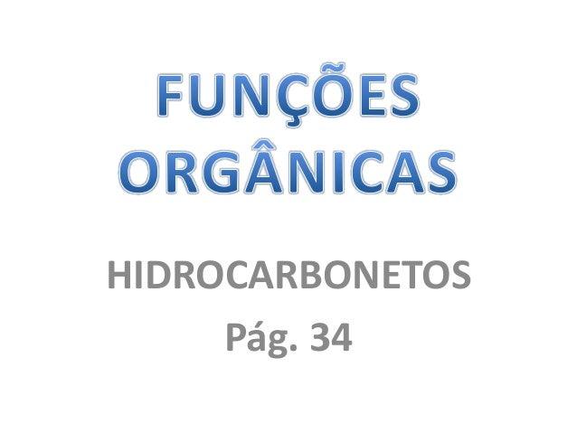 HIDROCARBONETOS Pág. 34