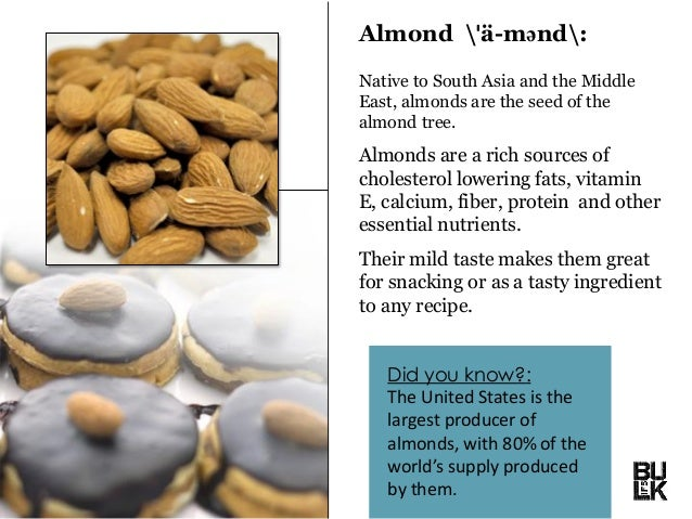 Fun Facts About Nuts Slide 3