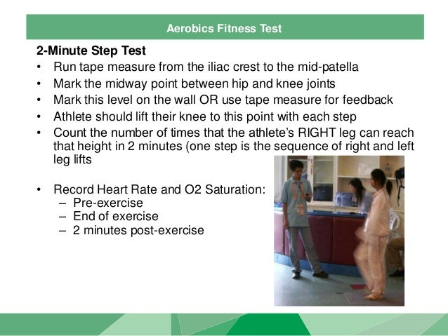 2 minute step test pdf