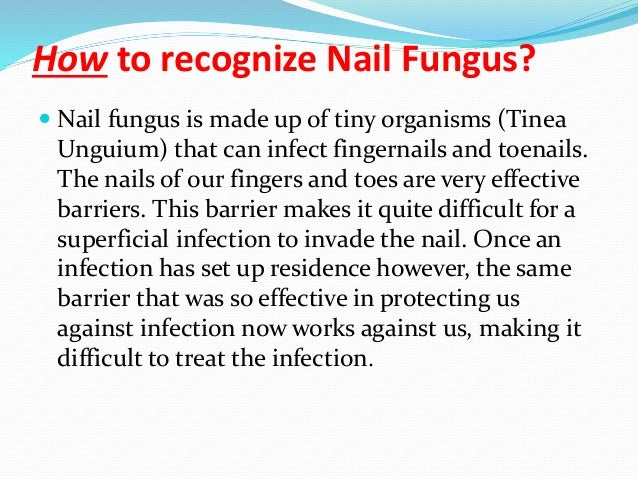 Nails Fungal Infections