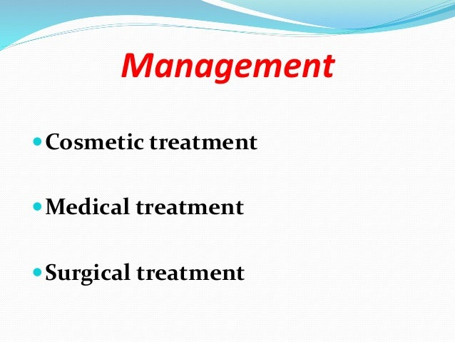Cosmetic treatment  Referral to a chiropodist may be helpful.  Nail filing and nail polish can lessen cosmetic effects. ...