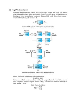 Fungsi alih sistem kontrol prximo slideshare ccuart Choice Image