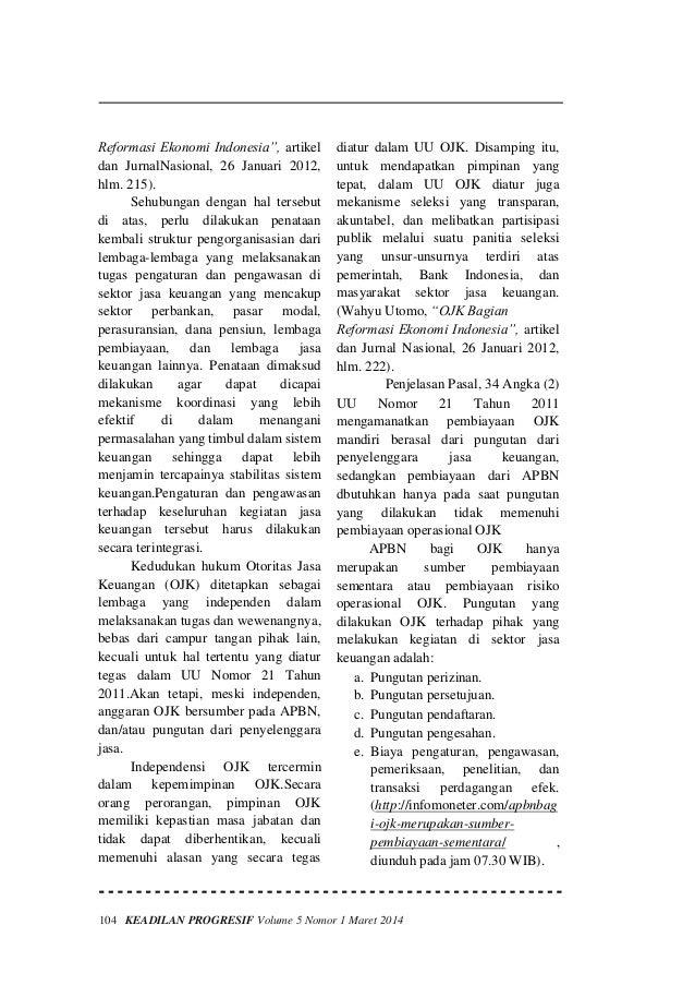 Fungsi ojk sebagai lembaga pengawas perbankan nasional Slide 3