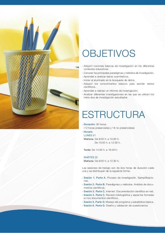 Programa del  III Taller Internacional sobre realización de Tesis Doctorales de FUNIBER Slide 2