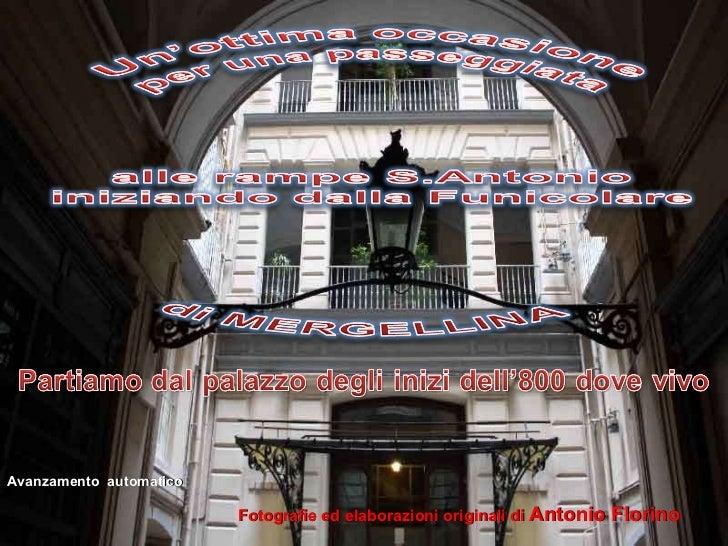 Fotografie ed elaborazioni originali di  Antonio Florino Avanzamento  automatico