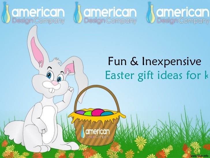 Fun inexpensive easter gift ideas for kids fun inexpensiveeaster gift ideas for negle Gallery