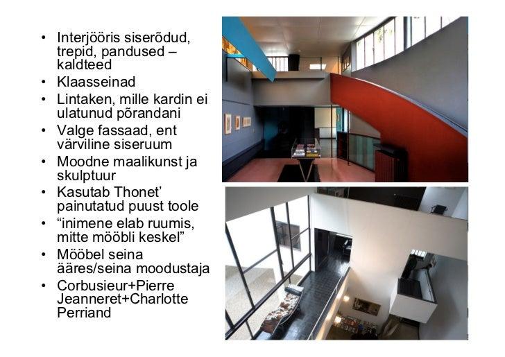 funktsionalism ja le corbusier. Black Bedroom Furniture Sets. Home Design Ideas