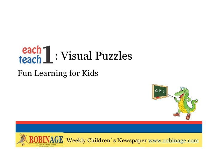 EOTO : Visual PuzzlesFun Learning for Kids                    Weekly Children's Newspaper            Weekly Children's New...