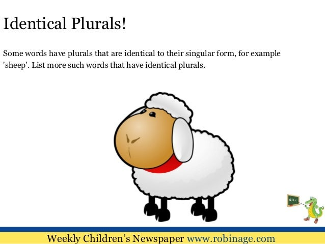 Image result for plurals for kids