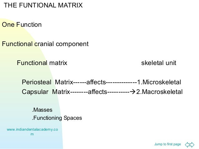 Functional Matrix Theory Certified Fixed Orthodontic Courses By Ind