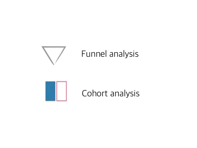 Funnel analysis  Cohort analysis