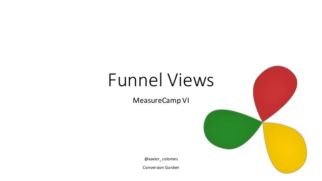 Funnel Views MeasureCamp VI @xavier_colomes Conversion Garden