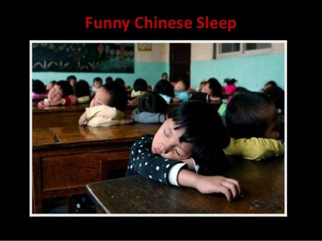 Funny Chinese Sleep